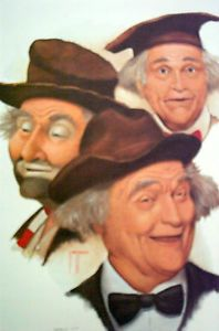 """Red Skelton Paintings for Sale   The Art of Jim Howle """" Red Skelton """" Signed Limited Print Artist Proof ..."""