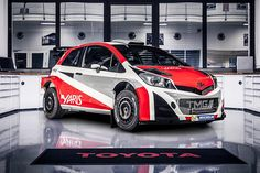 Toyota will compete in the 2017 Championship with the Yaris World Rally Car. The World Rally Championship programme will be handled by Toyota Motorsport Toyota, Race Car Track, Suzuki Cars, Car Guide, Volkswagen Polo, Car Magazine, Rally Car, Car Wrap, Sport