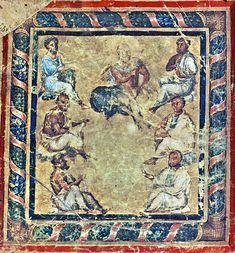 Byzantine Art, 11th Century, Renaissance Art, Illuminated Manuscript, Civilization, Bohemian Rug, Posts, History, Illustration