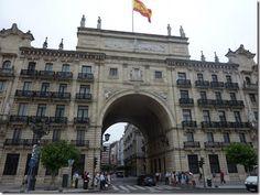 Edificio principal del banco Santander