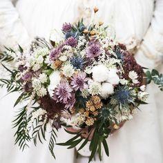 Ramo de novia otoñal #bridalbouquet #ramodenovia #novias #brides