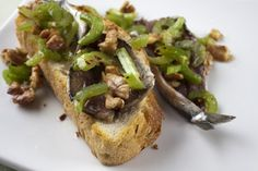 Cured Sardines With Celery and Walnuts   BartonSeaver.org