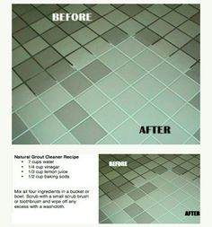 Natural Grout Cleaner