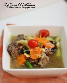 My Small Kitchen: Sup Ekor Ala Thai