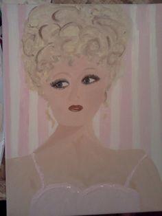 Bernadette...acrylic on canvas