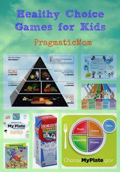 Healthy Choice Games for Kids :: PragmaticMom #HorizonB2S