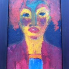 Emil Nolde, Red Haired Girl 1919 oil on canvas