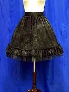 Moi-Meme-Moitie Water Print Tulle Skirt « Lace Market: Lolita Fashion Sales and Auctions