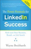 Are you at a social-media disadvantage if you entered the business world before the rise of Facebook? Wayne Breitbarth argues that the opposite is true when it comes to LinkedIn: your experience and connections as a seasoned professional give you a leg up in harnessing the benefits of LinkedIn, and LinkedIn can extend your reach even further with minimal time each week.