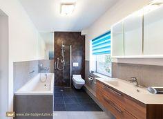 Porta badezimmer ~ Ideen kleine bader schmales badezimmer dusche beige bodenfliesen
