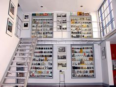 More camera display than photo display, but whoa -- this is some collection!