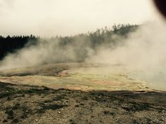 Midway Geyser Basin  Yellowstone National Park