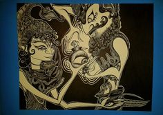 "Wayang Golek (""The eyes reappear"") by chckn"