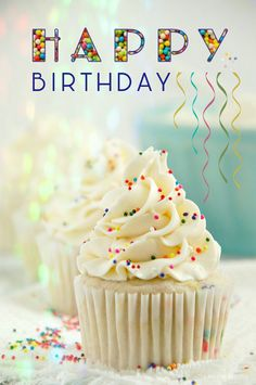 Inspired Photo of Birthday Cake Cupcakes . Birthday Cake Cupcakes Funfetti Birthday Cake Cupcakes 2 The Kitchen Mccabe Cupcake Recipes, My Recipes, Dessert Recipes, Bakery Recipes, Delicious Recipes, Cupcake Birthday Cake, Cupcake Cakes, Cupcakes Cool, Flower Cupcakes