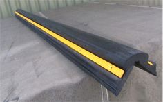 Rubber Corner Protector x 100 x 2500 mm Weight: 25 kg The Corner Protector is our most resilient corner protector. It's an extrusion cut to lengths and secured with yellow powder coated metal strips. Warehouse Management, Storage Design, Safety, Environment, Corner, Metal, Wall, Security Guard, Metals