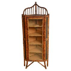 Delicieux Bamboo Corner Cabinet On OneKingsLane.com FROM: San Franciscou0027s Antique U0026  Art Exchange Sweet Little Charmer; Note The Bamboo Motif On The Doors!