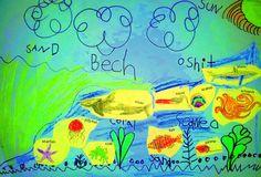 Syd's Kindergarten Collage