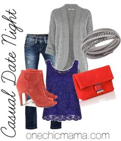 Casual Date Night Look - love the shoes!
