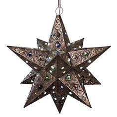 Colorado Star w/Marbles:Oxidized Finish