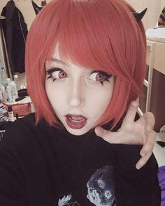 Anzujaamu the cosplayer kawaii -.-
