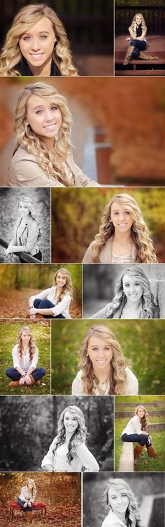 Great ideas for a fall photo shoot!