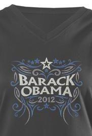 Obama graphic Tee | 2012 design by Democrat Brand