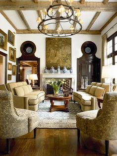 Deschanel Living Room Furniture from Thomasville with Monaco Sofa
