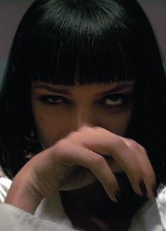Image about grunge in Movies by Kat V. on We Heart It Uma Thurman Pulp Fiction, Film Aesthetic, Bad Girl Aesthetic, Aesthetic Vintage, Art Pulp, Pulp Fiction Art, Robert Mcginnis, Pulp Fiction Costume, Robert Sean Leonard