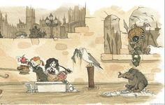 The dangerous alphabet by Neil Gaiman & Gris Grimly