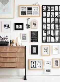 #gallery_wall #galeria_ścienna #dekoracja_ściany