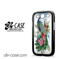 Peacock In Love DEAL-8520 Samsung Phonecase Cover For Samsung Galaxy S3 / S3 Mini