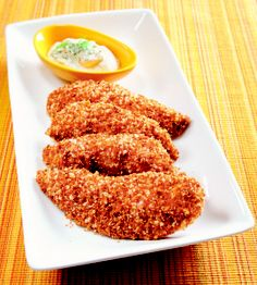 Peanut-Crusted Chicken Fingers Recipes — Dishmaps