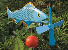 Fish Whirligig   Woodsmith Plans