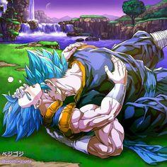 ⊱⋅ ──────────────── ⋅⊰ My guilty pleasure ship. I own no pictures in… Goku And Vegeta, Son Goku, Gogeta E Vegito, Female Goku, Captain Tsubasa, Hot Anime Boy, Gay Art, Dragon Ball Z, Artist