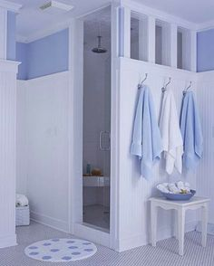 Color inspiration on pinterest behr behr paint and for Periwinkle bathroom ideas