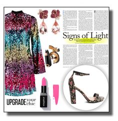 """""""Untitled #46"""" by elma11a ❤ liked on Polyvore featuring Miss Selfridge, Anyallerie and Bobbi Brown Cosmetics"""
