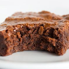 The famous Baked Brownie from The Baked bakeshop in Brooklyn. These are one of Oprah's favorite things, and deservedly so!