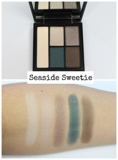 SWATCHES + REVIEW: NEW e.l.f. Clay Eyeshadow Palettes – Seaside Sweetie – Kitty Kat Does Makeup