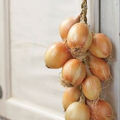 How to Braid Onions.  I'll be doing this with mine, this year!