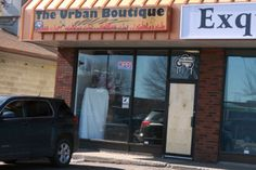 The Urban Boutique had its front door smashed in during a break and enter last Friday.