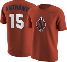 Nike Men s Syracuse Orange Carmelo Anthony  15 Orange Future Star Replica  Basketball Jersey T- bea9b4a87