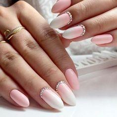 60 +Pic Pink Gel Nails Ideas 2018#gelnails #nails , #gelish #pink nails#, #glitternails nails#, nail art 2018#, nail art designs, #nails colors, #acrylic nails, #coffinnails nails