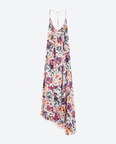 Image 8 of LONG PRINTED DRESS from Zara