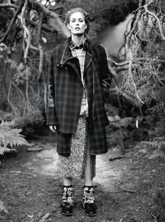 Nadja Bender - CR Fashion Book - Into the Woods