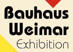 Bauhaus Typeface Itc bauhaus was designed by