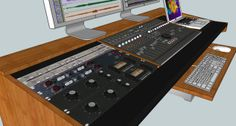 Custom Recording desk