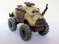[Shiny and Chrome] [WIP] Building Mad Max-Style Cars for Tabletop Gaming - Page 4 Mad Max, Apocalyptic Love, American Gypsy, Death Race, Rc Cars And Trucks, Tank Armor, Custom Hot Wheels, Dieselpunk, Hot Cars