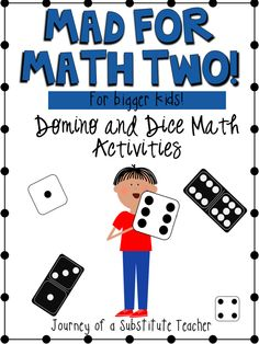 Dice and Domino Activities for Bigger Kids