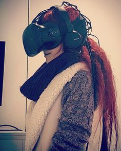 Cyborg-JoJo  #cyborg #biomechanics #virtual #reality #virtualreality #game #gamergirl #visual #smart #nerd #nerdville #nerdgirl #couple #fun #bio #mechanics #future #vr #vrglasses #samsunggear #samsung #sony #glasses #redhair #redhead #gingergirl #basel #zurich #switzerland #swiss