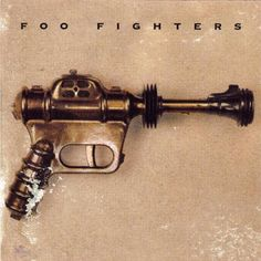 """The self-titled debut album, """"Foo Fighters,"""" introduced the listening world to Dave Grohl independent of Nirvana. Many of the songs were written while drumming for his former band, and carry the same Seattle grunge sound. Dave Grohl, The Velvet Underground, Hounds Of Love, Hard Rock, Debut Album, Cd Album, Heavy Metal, Music Album Covers, Rock Music"""
